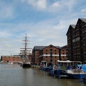 tall ship in docks